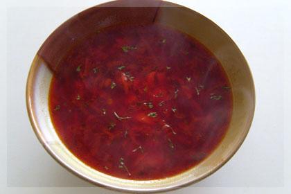 Борщ вегетарианский