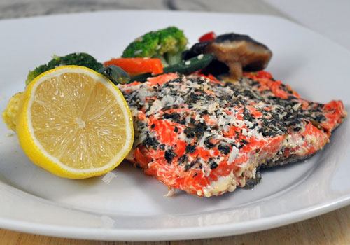 Здоровый лосось